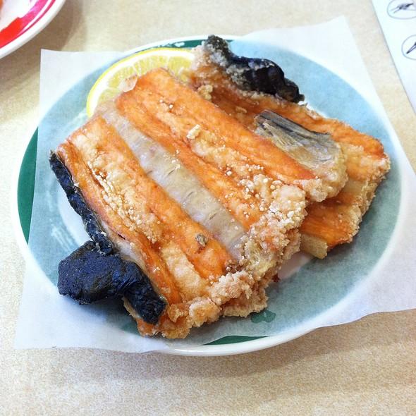 Salmon Bone @ Genki Sushi