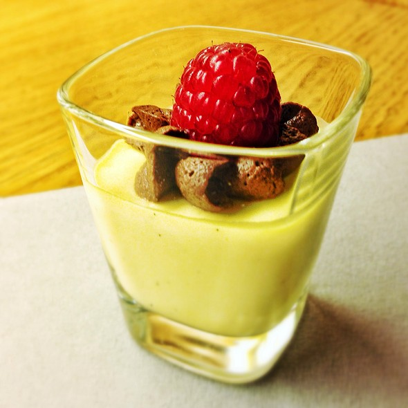 Vanilla Pudding @ Lufthansa First Class Lounge