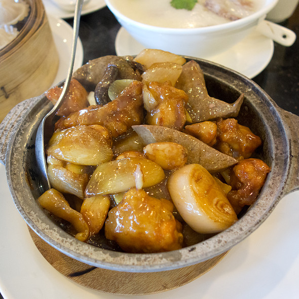braised chicken & liver with shallots