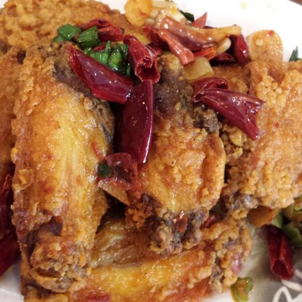 Sichuan Chicken Wings @ Han Dynasty