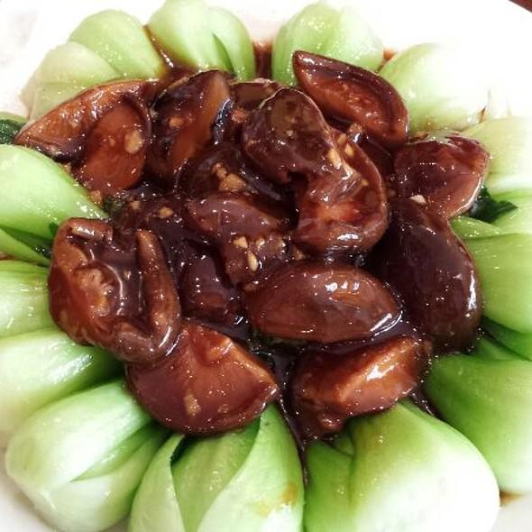 Bok Choy With Black Mushrooms @ Han Dynasty