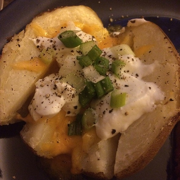 loaded baked potato @ Home
