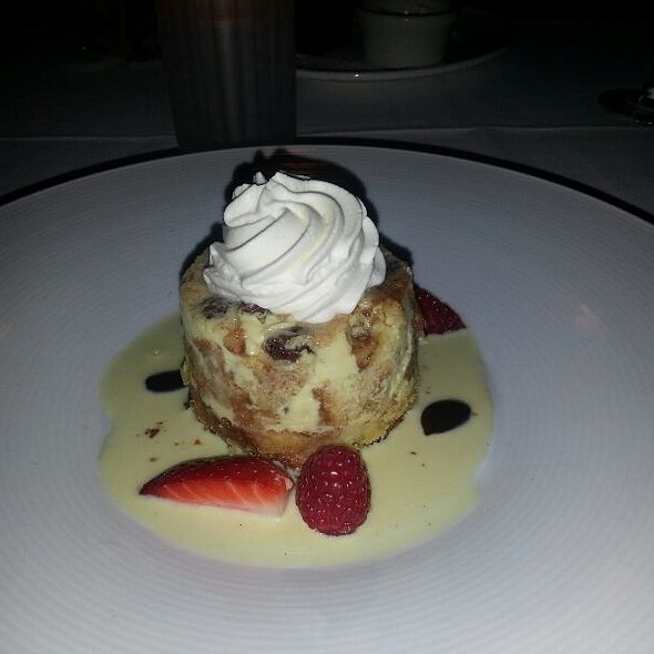 Cinnamon Raisin Bread Pudding - Mistral - Sherman Oaks, Sherman Oaks, CA