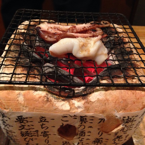 Chargrilled Octopus @ 備長炭火焼 串ige ばらくーだ店