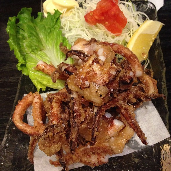Fried Squid Legs