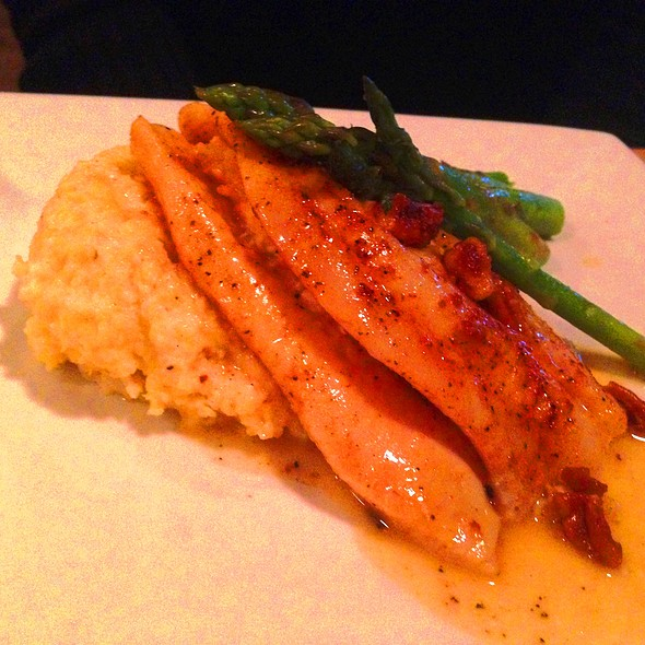 Crab Stuffed Flounder - Lowcountry Bistro, Charleston, SC