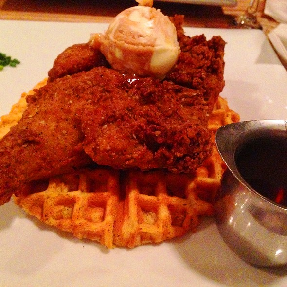 Bone In Chicken and Waffles - Lowcountry Bistro, Charleston, SC
