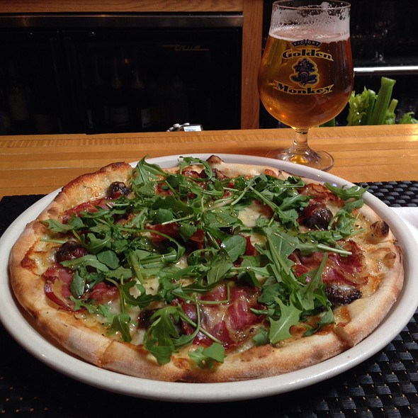 Coppa Italian Ham & Black Mission Fig Pizza