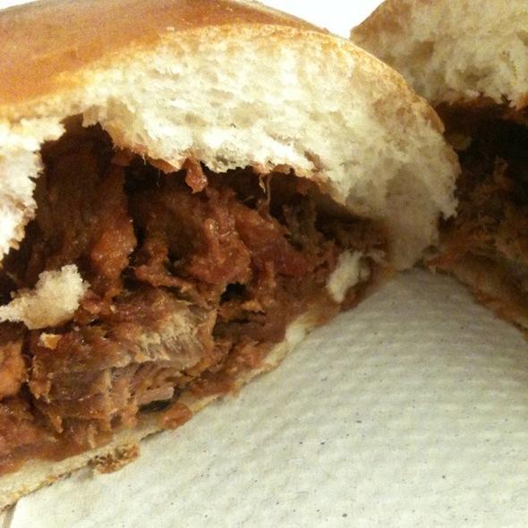 Baked Roast Pork Bun @ fay da bakery