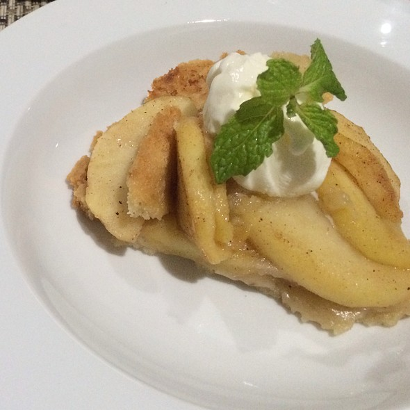 Apple Pie With Lavender Shortbread Crust @ I Forgot It's Wednesday