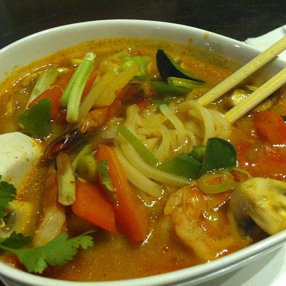 Tom Yum Noodle Soup @ Sukho Thai