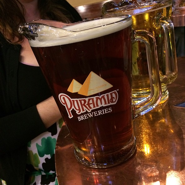Draught Pale Ale @ Pyramid Brewery & Alehouse