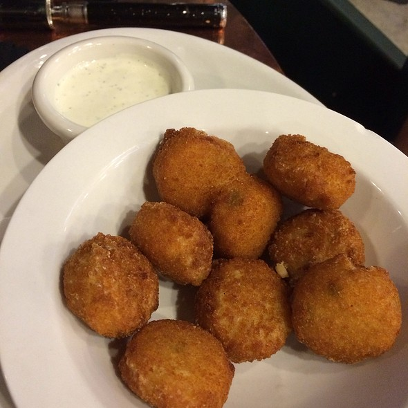 Jalapeño And Cheese Poppers @ Pyramid Brewery & Alehouse