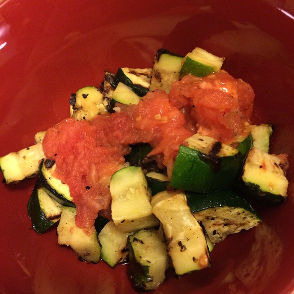 Grilled Zucchini & Tomato @ Home