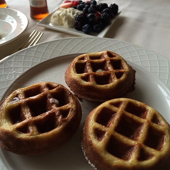 Belgian Waffle - Le Salon at the Windsor Court Hotel, New Orleans, LA