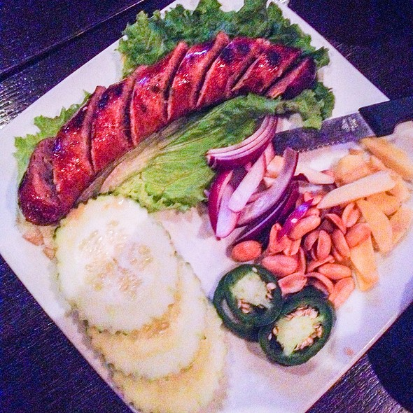 Northern Thai Sausage - Lotus Thai - Downtown, San Diego, CA