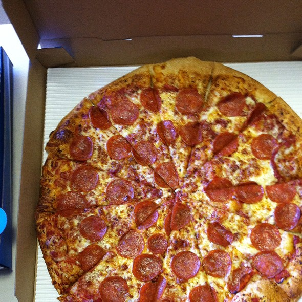 Pepperoni Pizza @ Uncle Maddio's Pizza Joint