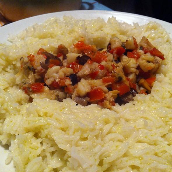 Mixed Fish And Basmati @ Home