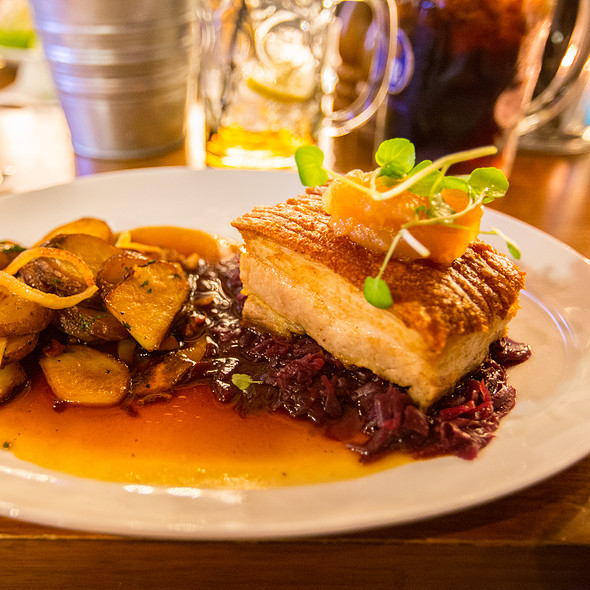 German Style Pork Belly @ Bavarian Bier Cafe