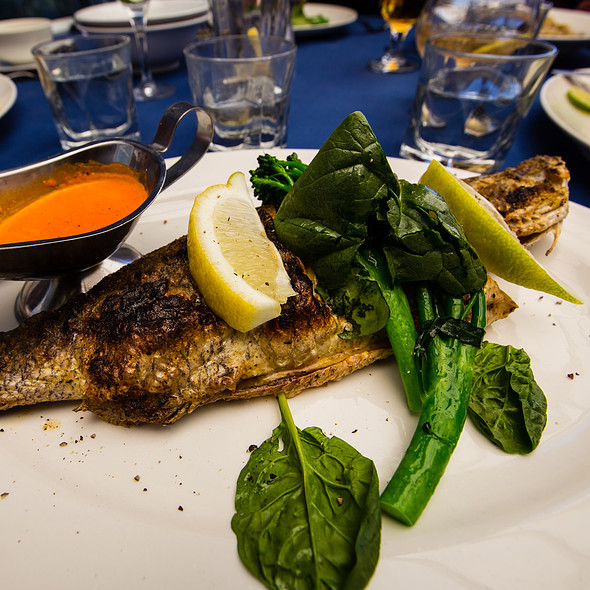 Whole Baby Barramundi @ George's Paragon Seafood Restaurant Brisbane
