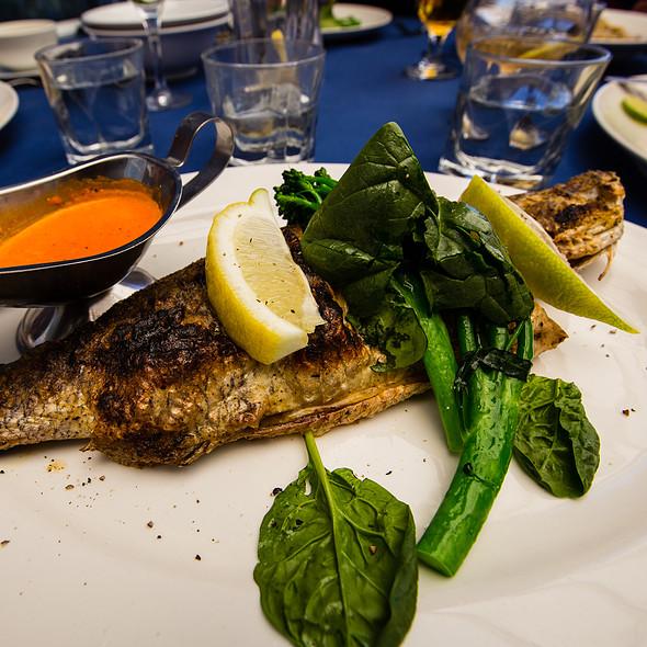 Whole Baby Barramundi @ George's Paragon Seafood Restaurant Brisbane