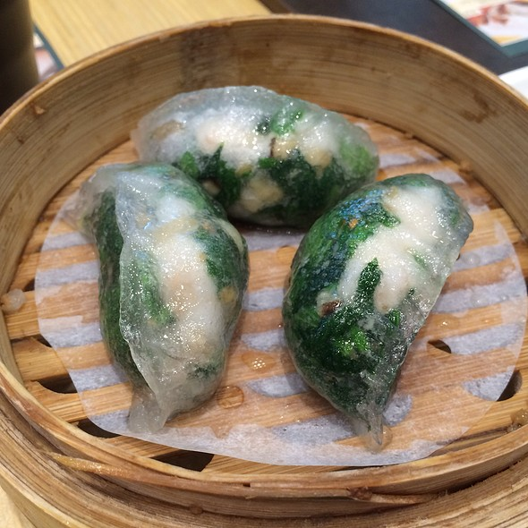 Spinach And Shrimp Dumplings @ Tim Ho Wan 添好運 (Plaza Singapura, Singapore)