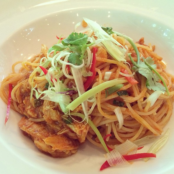 Chili Crab Spaghettini