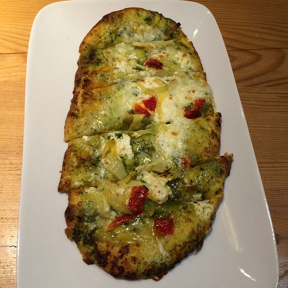 Artichoke And Goat Cheese Flatbread @ Starbucks