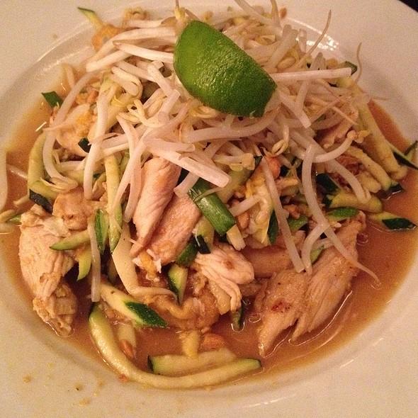Zucchini Pad Thai @ Ngam Restaurant