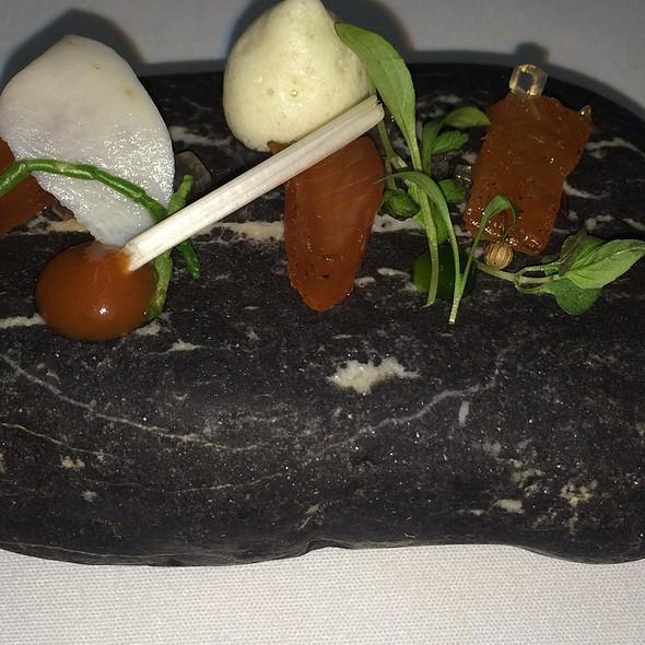 Steelhead River Trout - Q Haute Cuisine (formerly La Caille), Calgary, AB