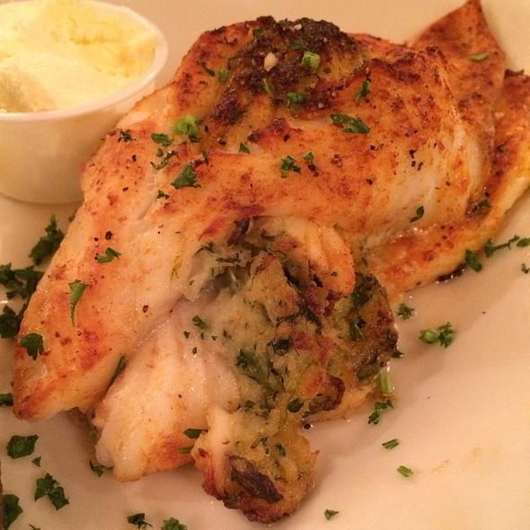 Baked Stuffed Flounder - Tidewater Grill - Charleston, Charleston, WV