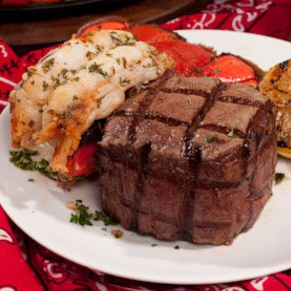 Lobster And Large Filet @ Ruth's Chris Steak House (Sacramento)
