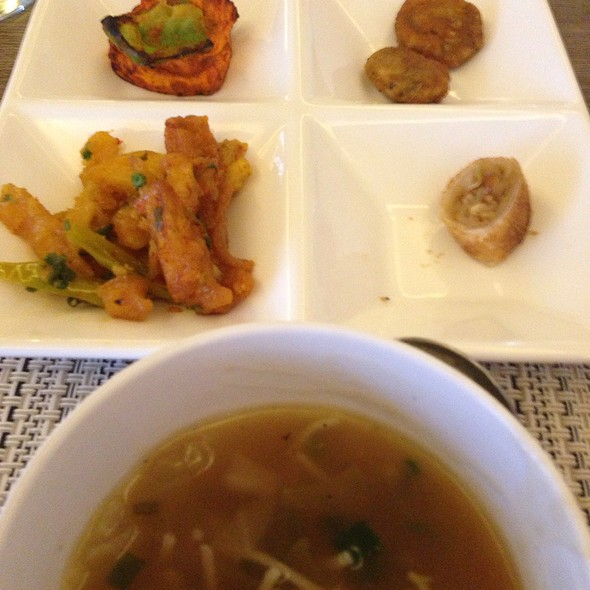 Starter Platter @ Utsav Vegetarian Restaurant