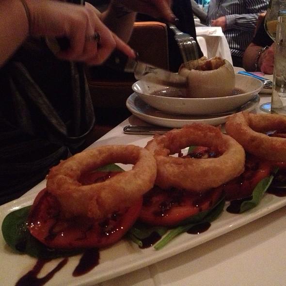 Beefsteak Tomatoes  And Onion Soup - Chart House Restaurant - Golden Nugget - Las Vegas, Las Vegas, NV