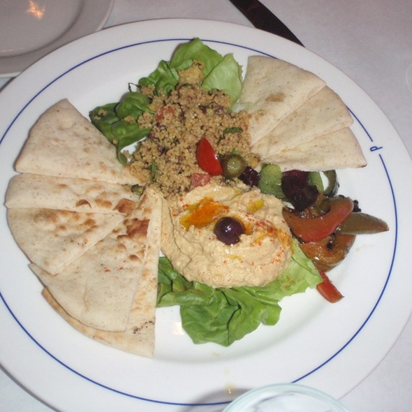 Moroccan Sampler Plate - Bistro St. Tropez, Philadelphia, PA