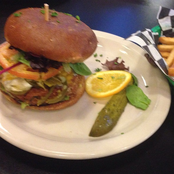 Jalapeno Green Cheeseburger @ Green Vegetarian Cuisine