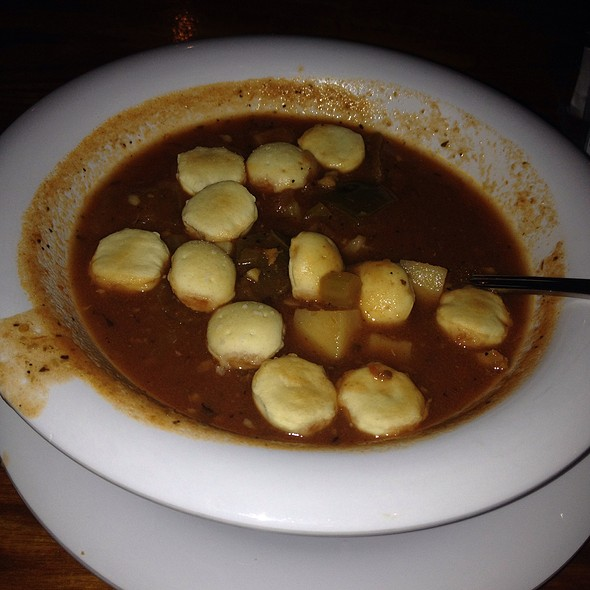 Conch Chowder @ Montys Fish and Stone Crab Restaurants