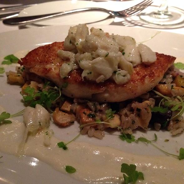 Pan Seared Flounder & Crab - Fin Seafood Restaurant, Newport News, VA