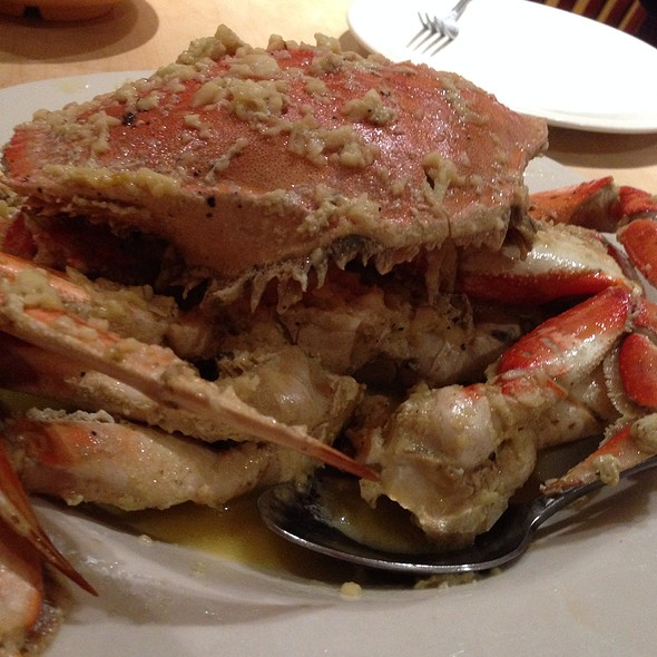 Garlic Roasted Dungeness Crab