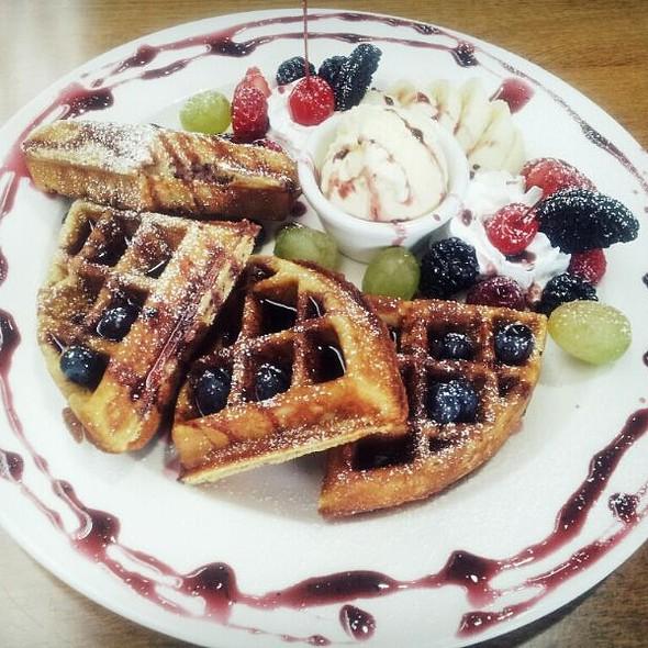 Dessert Waffles @ IOTA Coffee & Bakery