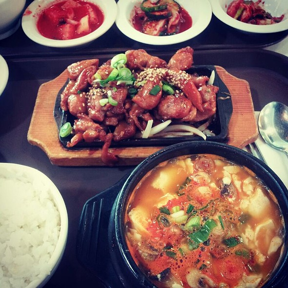 Meal Set  @ Corea BBQ