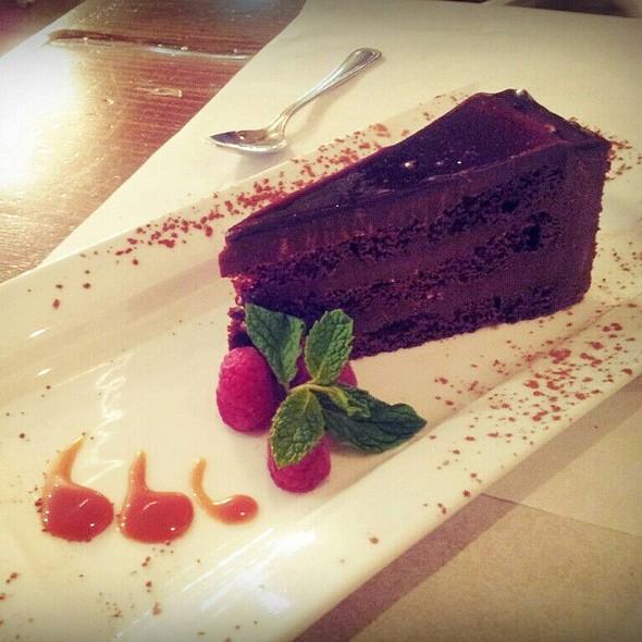 Chocolate Torte. @ ANIMA Pizza & Pasta