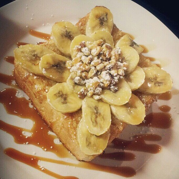 Banana Nut Honey Toast @ Caffe Bene