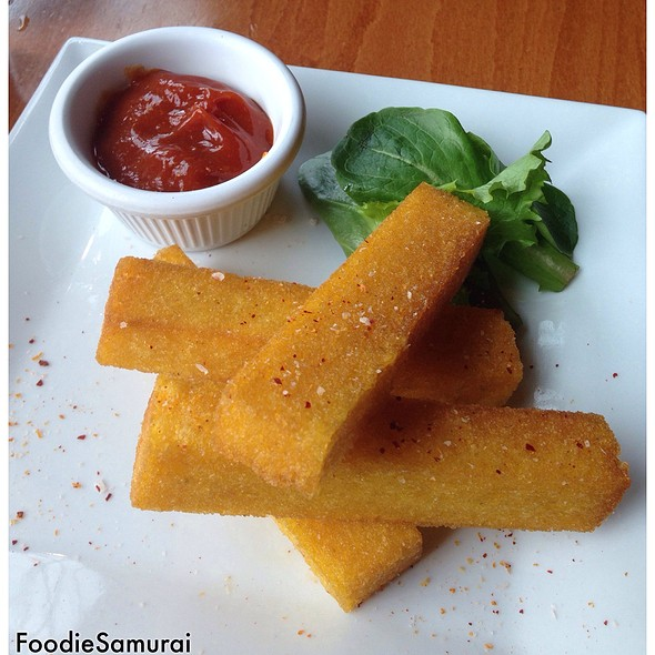 Spicy Polenta Fries