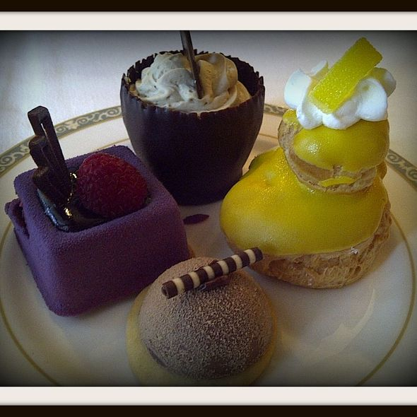 Desserts @ Club 33 at Disneyland