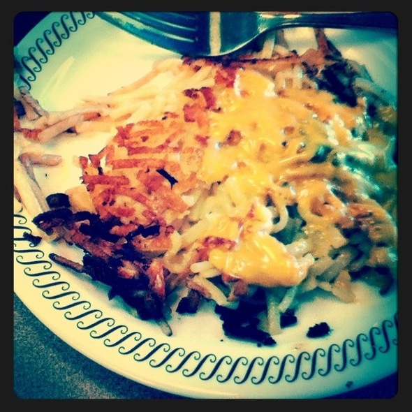 Hash Browns With Cheese