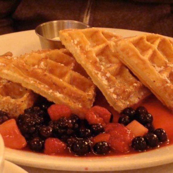 Waffles @ Balthazar Restaurant