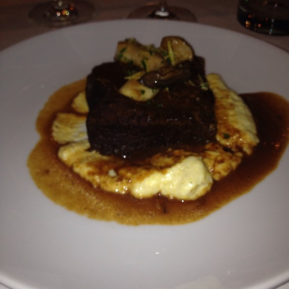 Brisket And Polenta @ Sam & Harry's Steak House