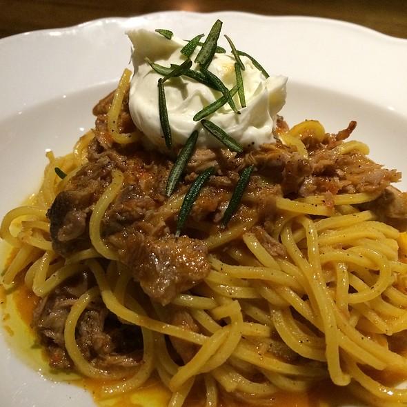 Spaghetti, Duck Ragu, Ricotta, Rosemary @ Porzia