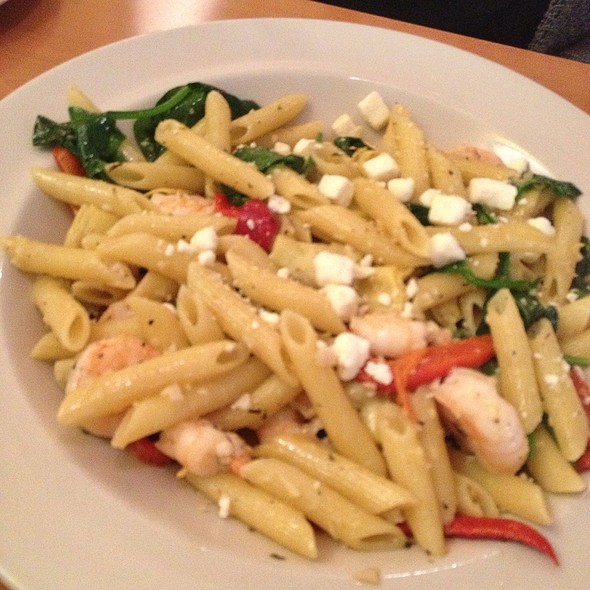 Mediterranean Penne With Shrimp - Brighton Bar and Grill, Brighton, MI